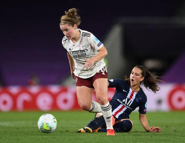 Arsenal FC v Paris Saint-Germain UEFA Womens Champions #20206947