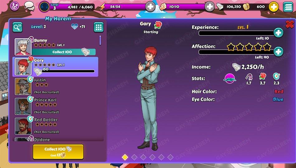 gay harem game menu 2
