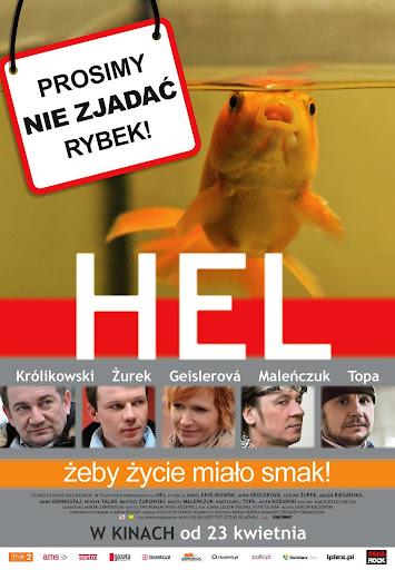 Polski plakat filmu 'Hel'