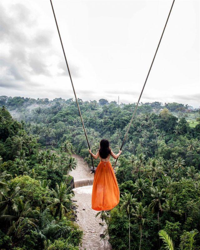 Trải nghiệm đu dây tuyệt vời ở Zen Hideaway khi du lịch Bali