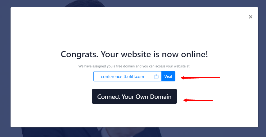 creating a free account on olitt the best website builder in kenya