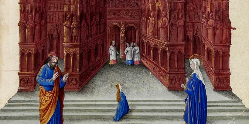 PRESENTATION OF THE VIRGIN TO THE TEMPLE