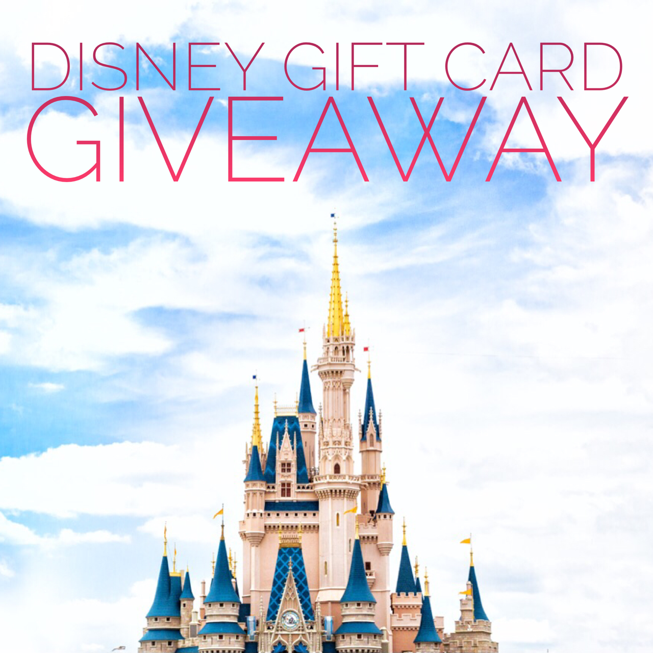 $250 Disney Gift Card Giveaway