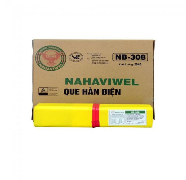 Que hàn inox NB-308 3.2 mm phù hợp với tiêu chuẩn ASME/AWS