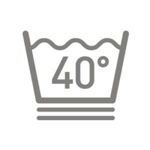 Biểu tượng giặt quần áo.