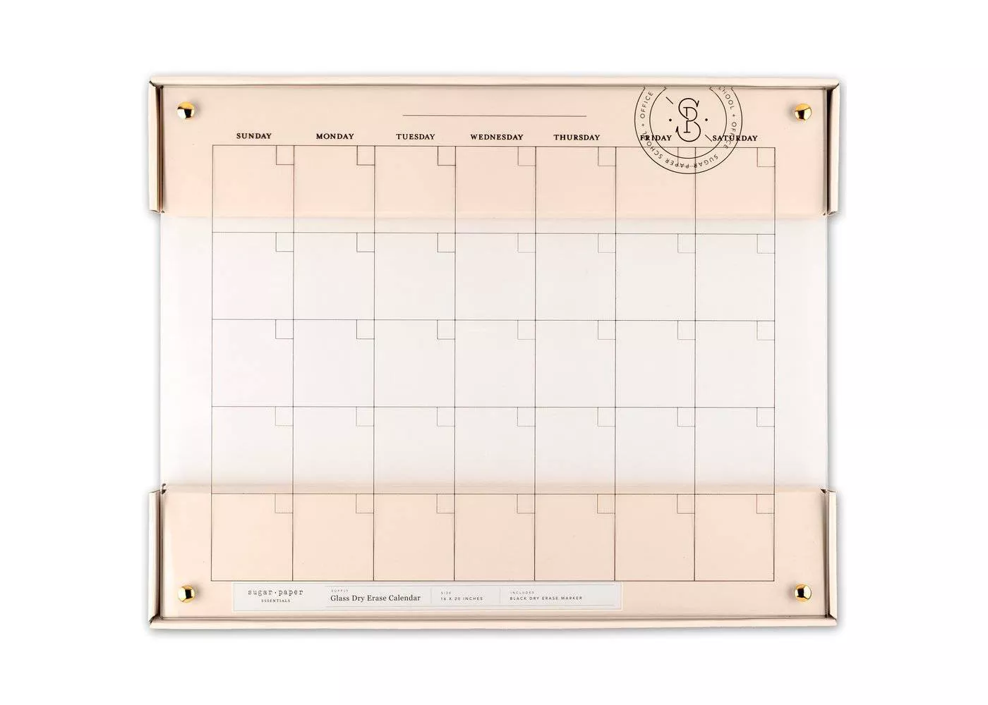 monthly routine template