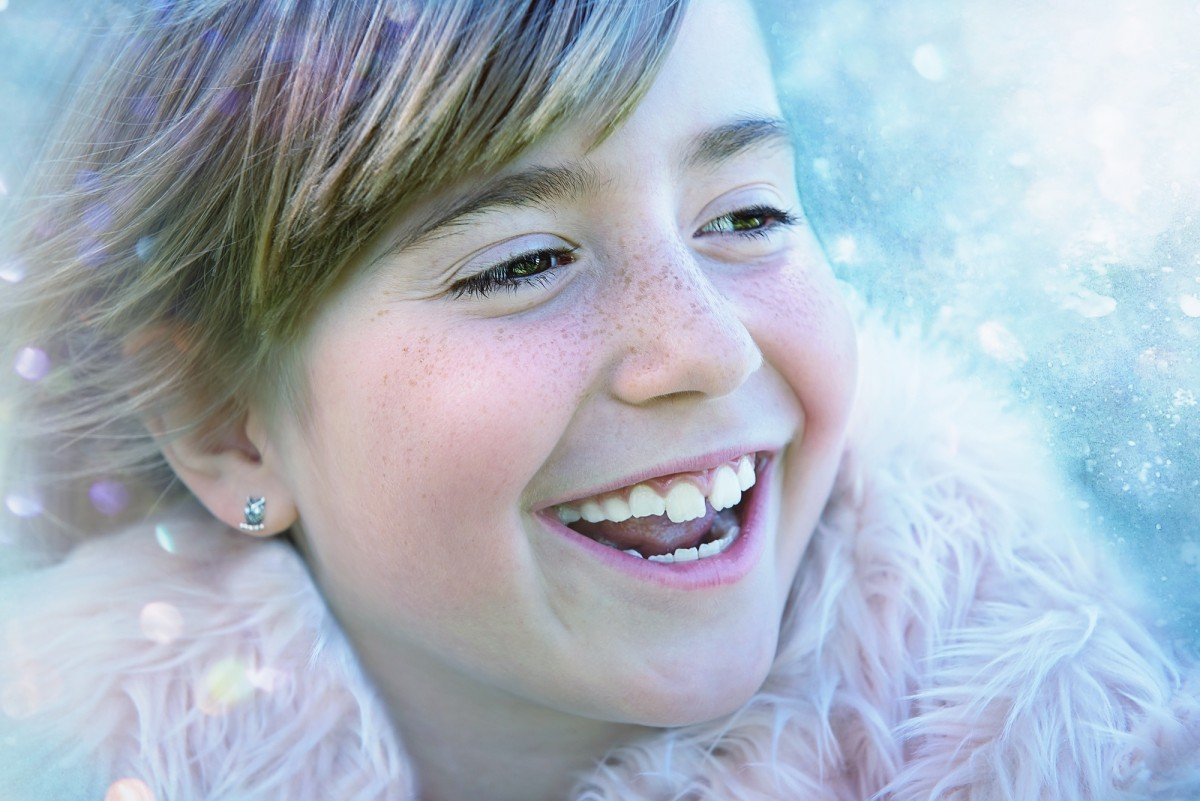 person winter girl hair photography female portrait child human blue close facial expression lip hairstyle smile laugh mouth close up human body cheerful face nose happy toddler eye head skin beauty organ laughter tooth sweetness emotion good mood portrait photography