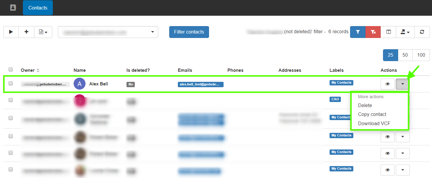 GAT+: Google Contacts Management 11
