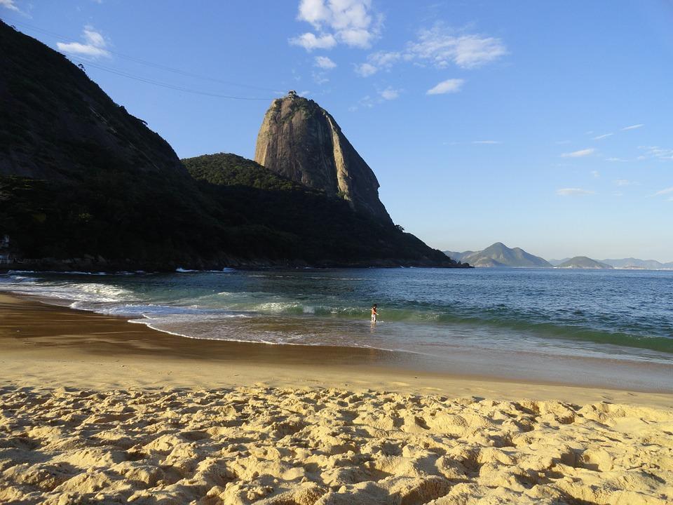 Pão De Açúcar, Praia Vermelha, Urca, Rio De Janeiro