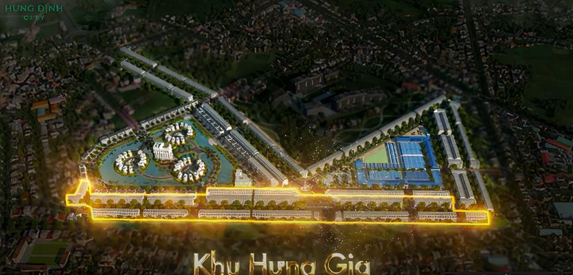 khu hưng gia - dự án hưng định city