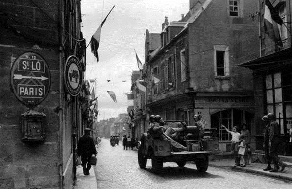 Normandy American Heroes office in Carentan