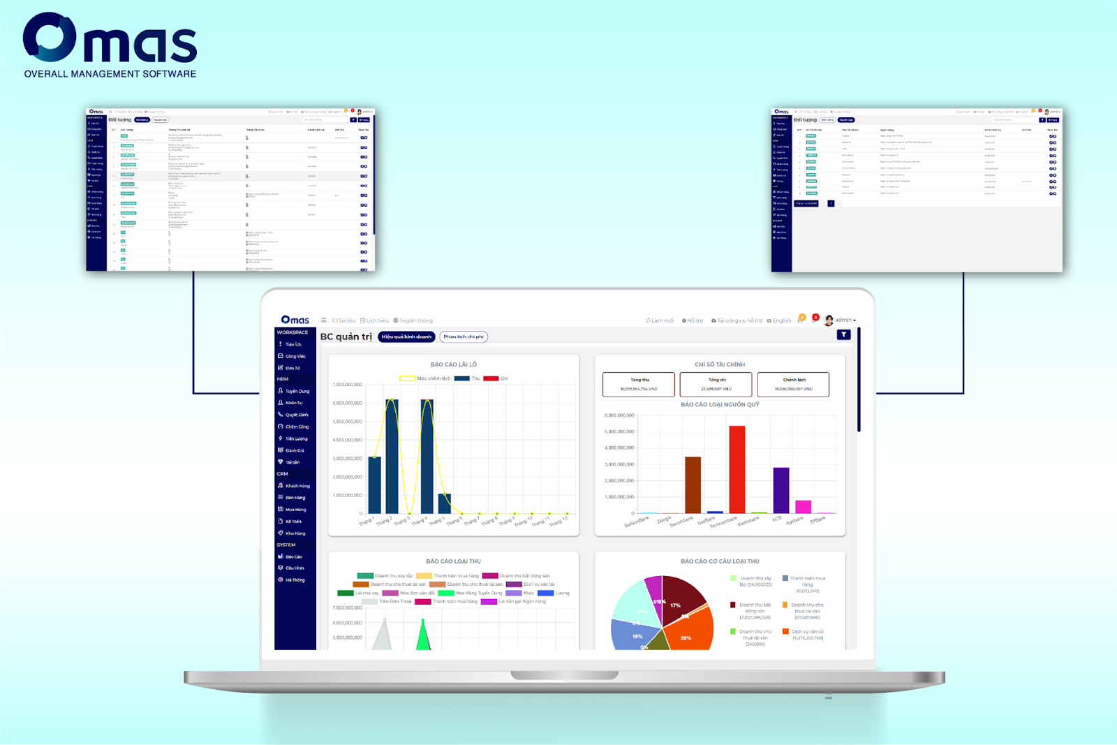 Omas với phân hệ CRM giúp quản lý chi phí tối ưu cho doanh nghiệp