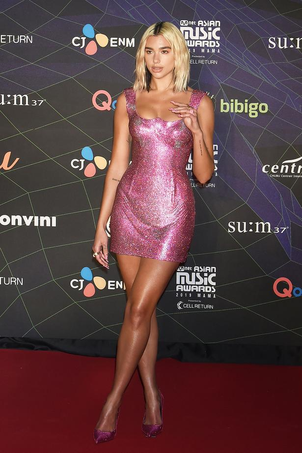 glossy dress