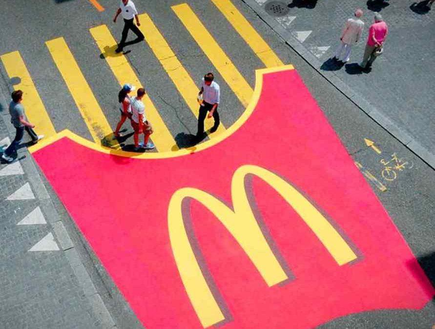 mcdonalds guerilla marketing work