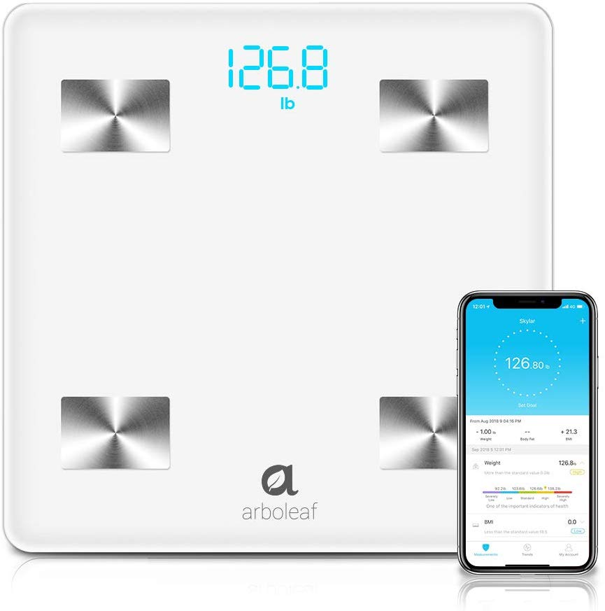 Arboleaf Bluetooth Body Fat Scale.