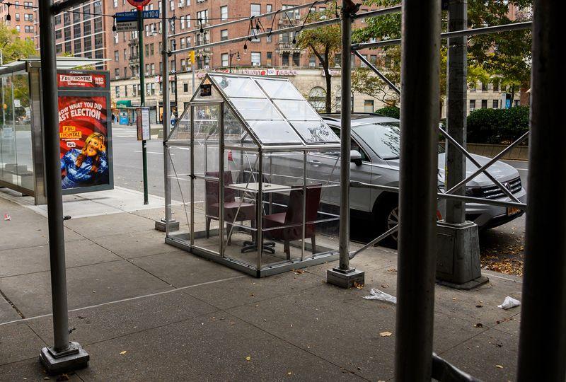 virus restaurants tents outdoor