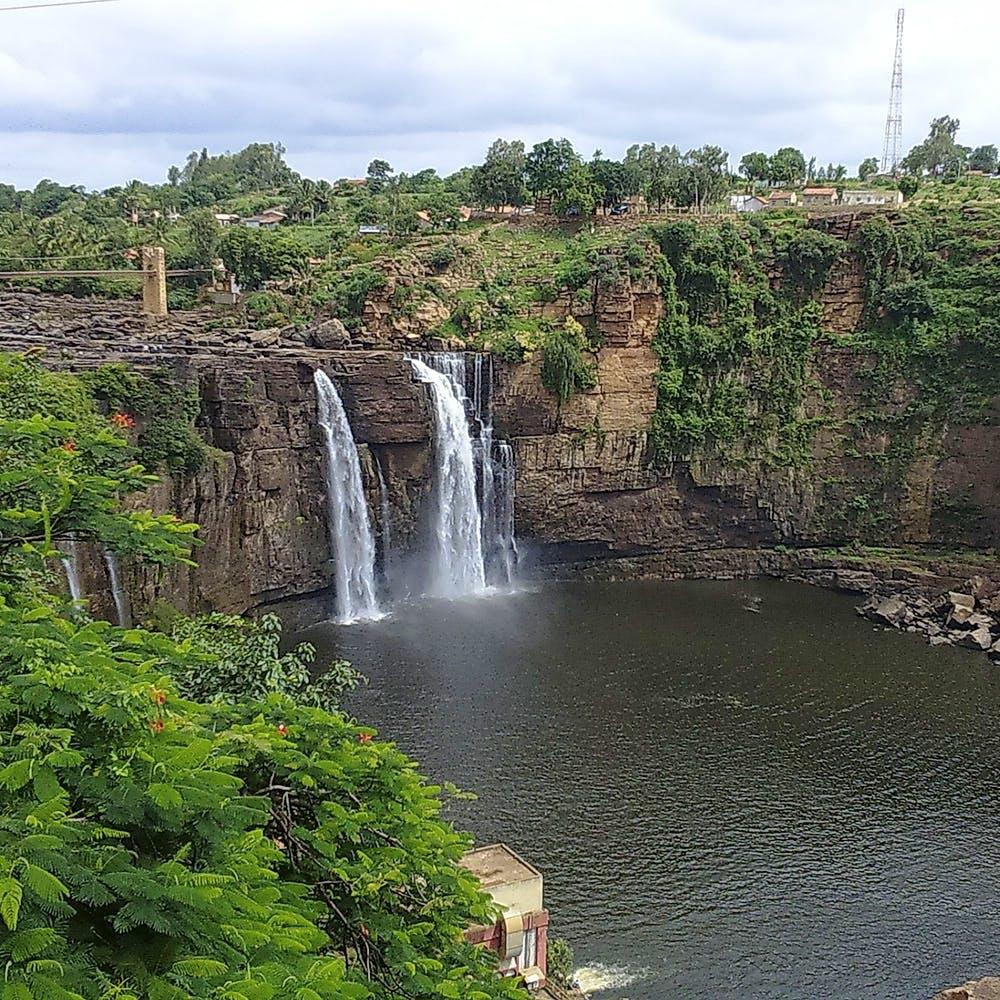 Gokak Falls in Belgaum