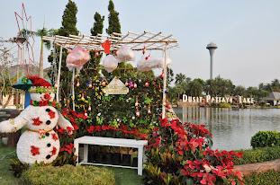 Празднование Нового года и Рождества в Русском поселке в Таиланде