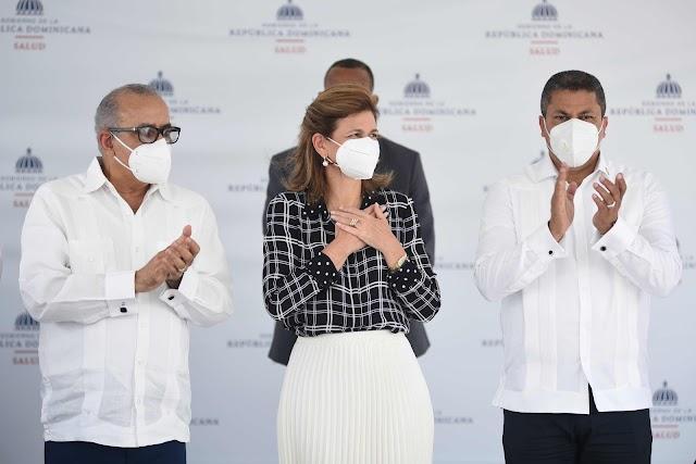"""Vicepresidenta: """"Gobierno trabaja para erradicar el Covid-19"""""""