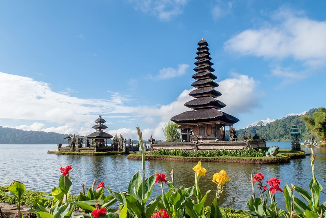 Besakih temple is a historical temple in Indonesia
