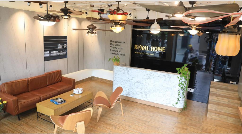 Royal Home – Địa chỉ bán quạt trần tại Hà Nội được mọi người tin dùng