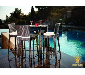 bàn ghế ngoài trời cho khu resort