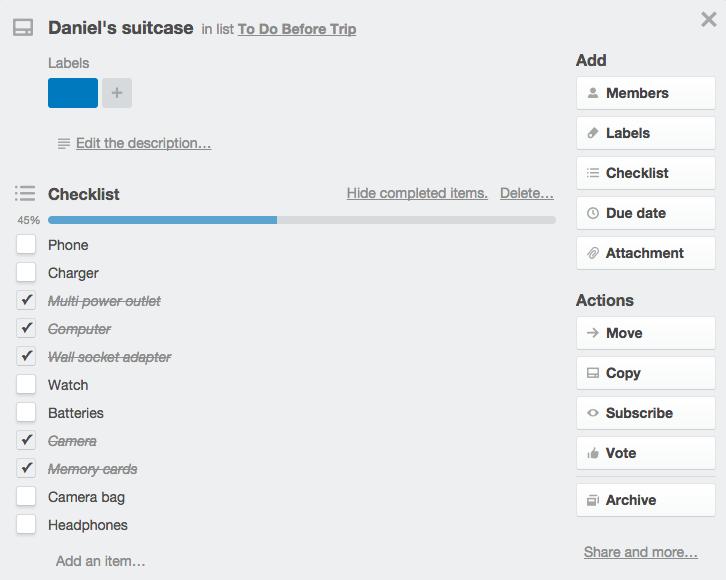 trello checklist ile ilgili görsel sonucu