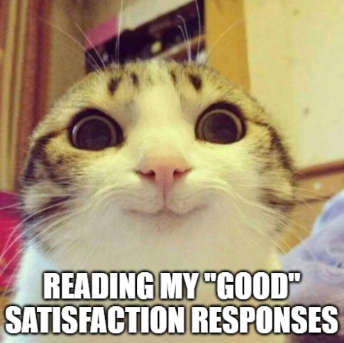 satisfied cat meme