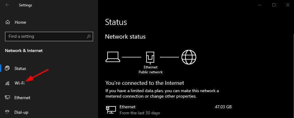 Find Network Security Key on Windows 10. Windows Network & Internet > Wi-Fi. Source: nudesystems.com