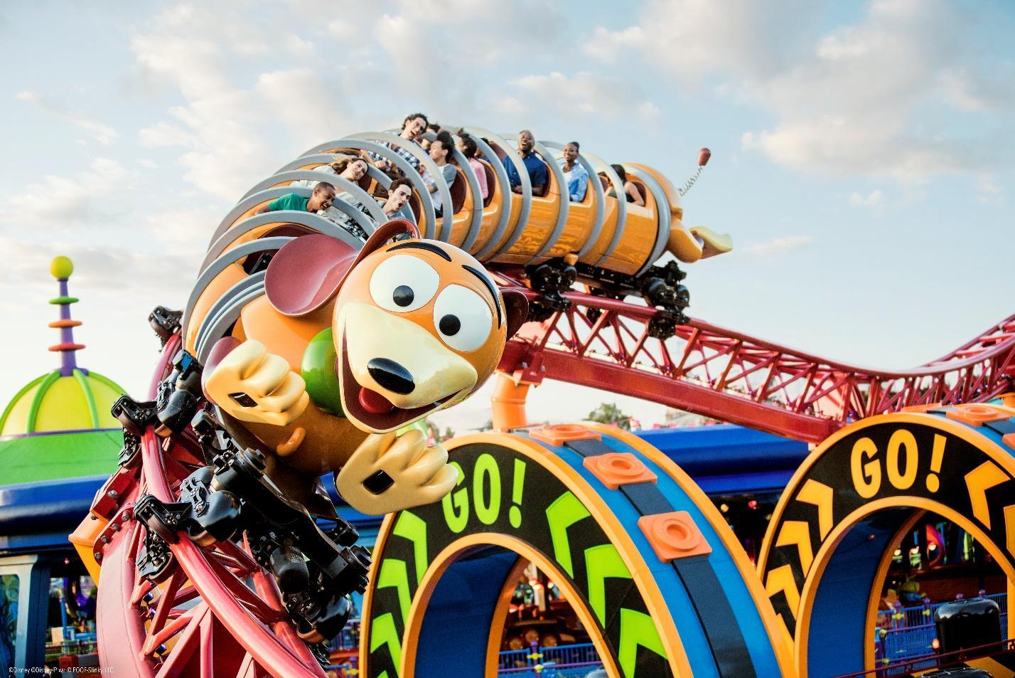Slinky Dog Dash Toy Story Disney World Ride