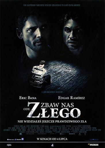Przód ulotki filmu 'Zbaw Nas Ode Złego'
