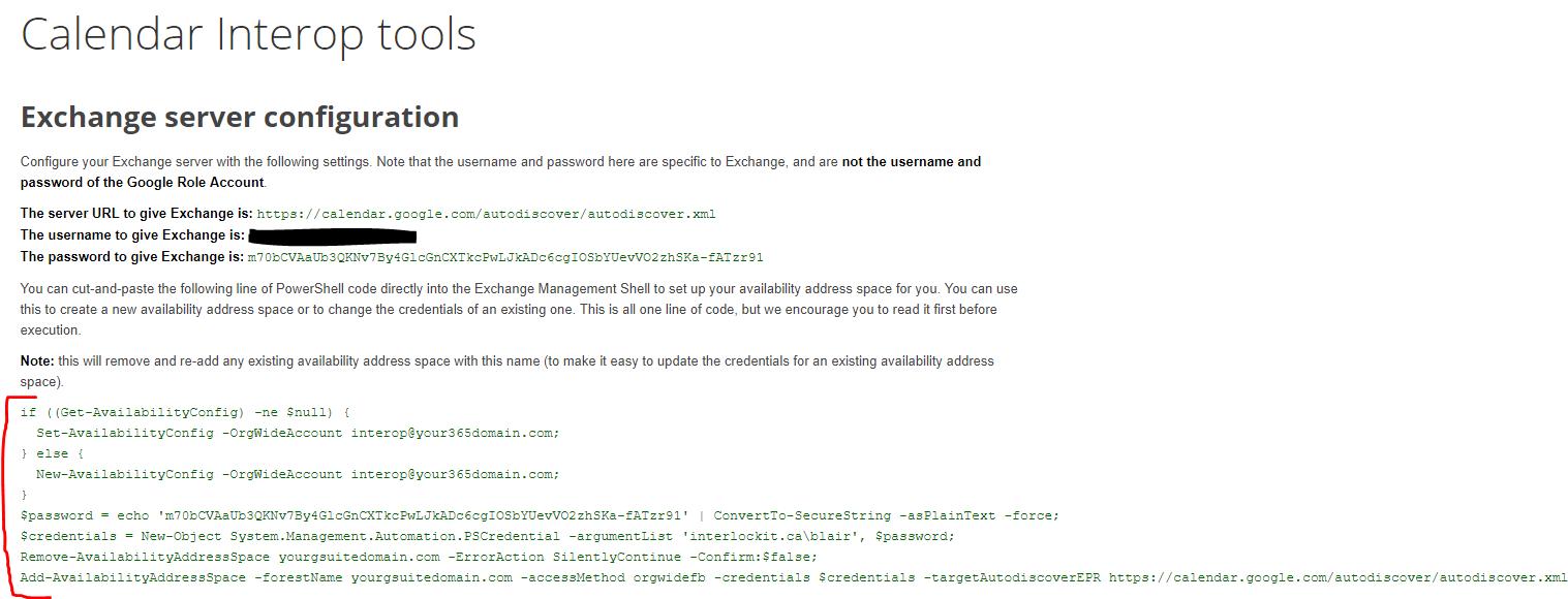 G Suite and Cloud Integration: G Suite Calendar Interop