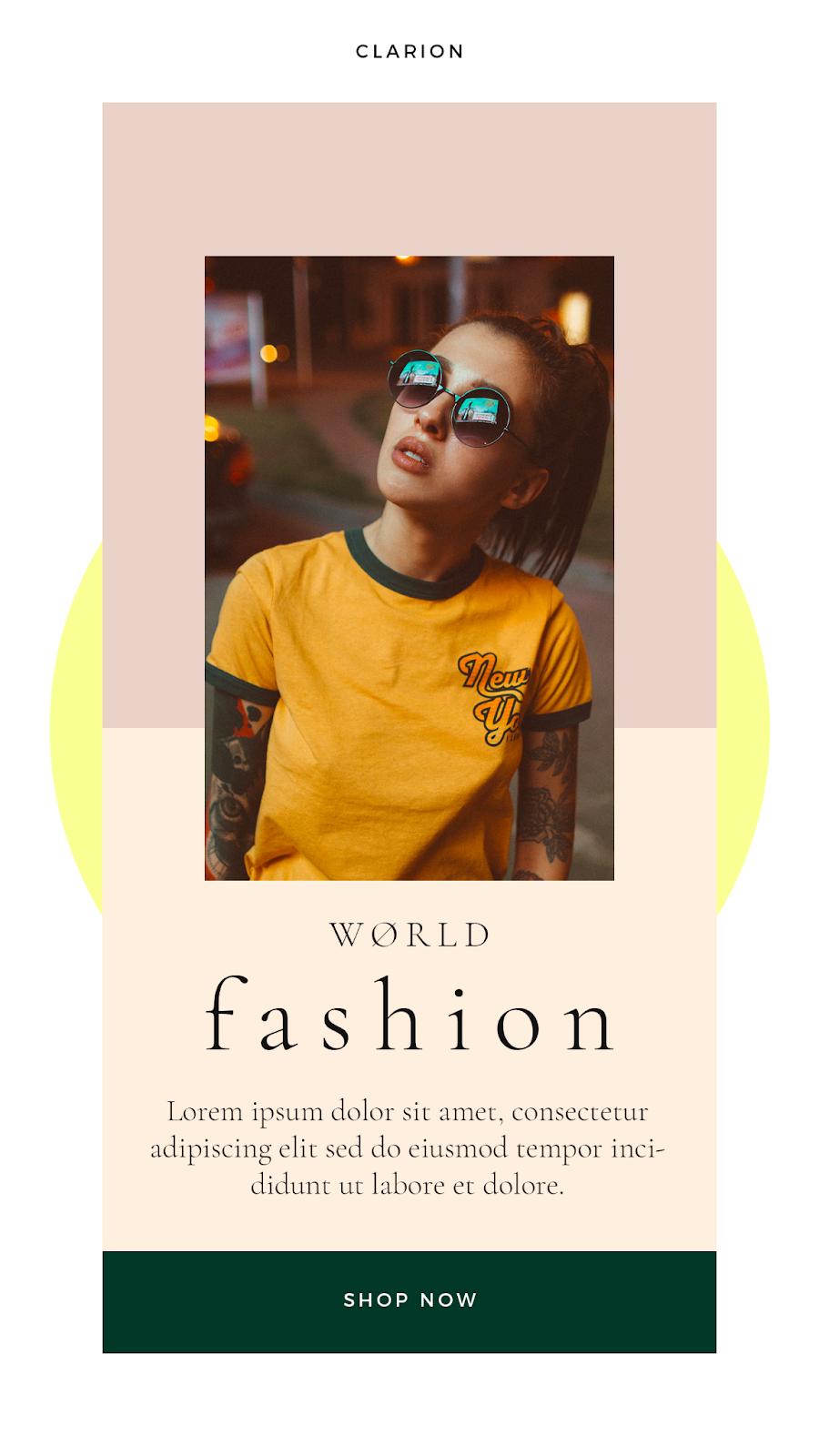 Graphics Eggs World Fashion Instagram Stories Templates