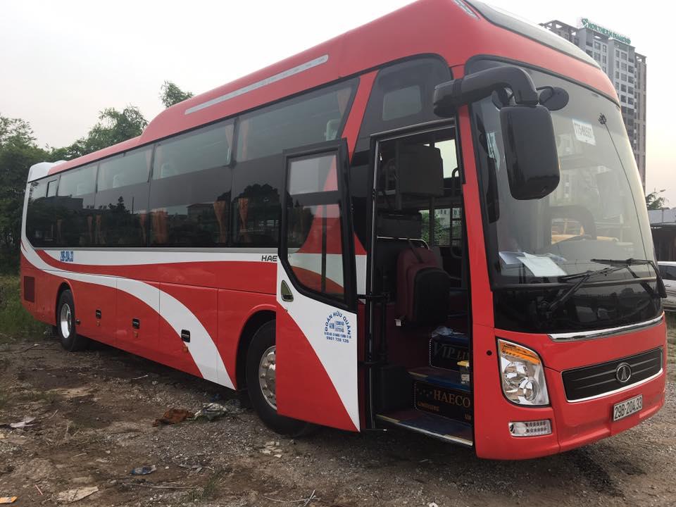 Xe An Long Happy Bus đi Quảng Ninh