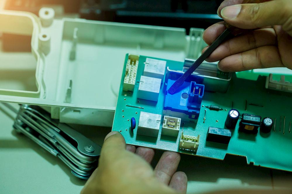 ремонт модуля управления стиральной машины