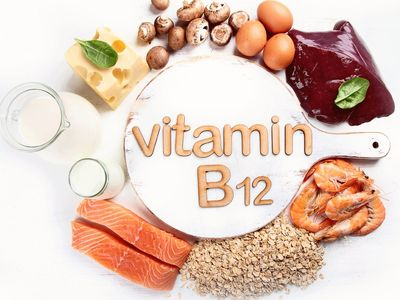 Foods rich in vitamin B12 include red meats, dairy and fish.