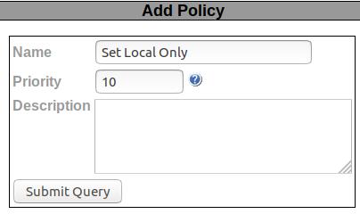 Add Policy List