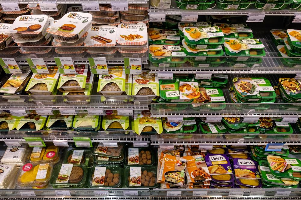O mercado de alimentos vegetais processados vêm crescendo em todo o mundo, inclusive no Brasil. (Fonte: Shutterstock/www.hollandfoto.net/Reprodução)