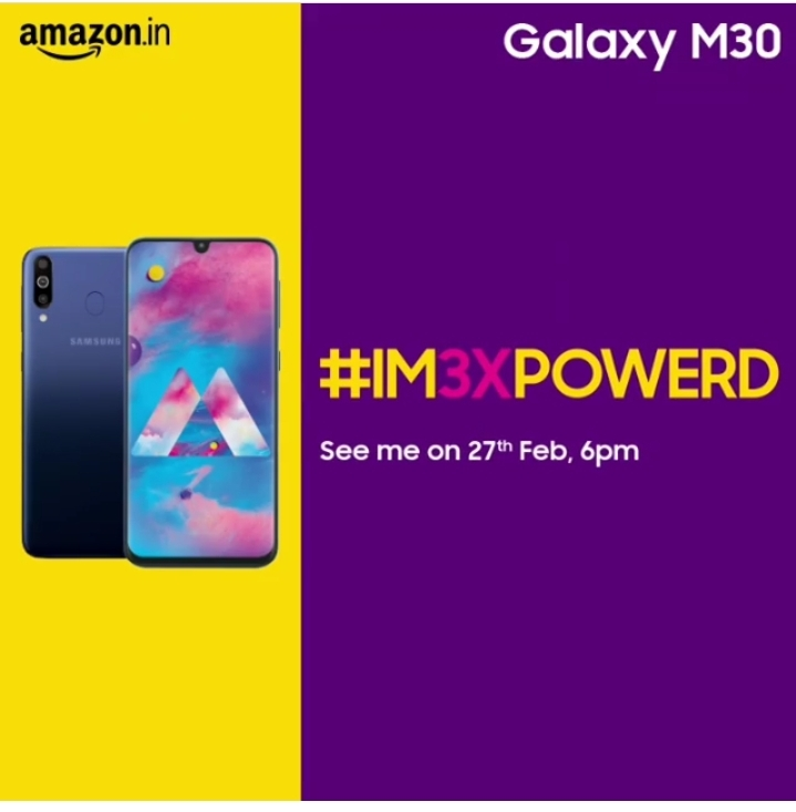 Samsung M30 Price In India