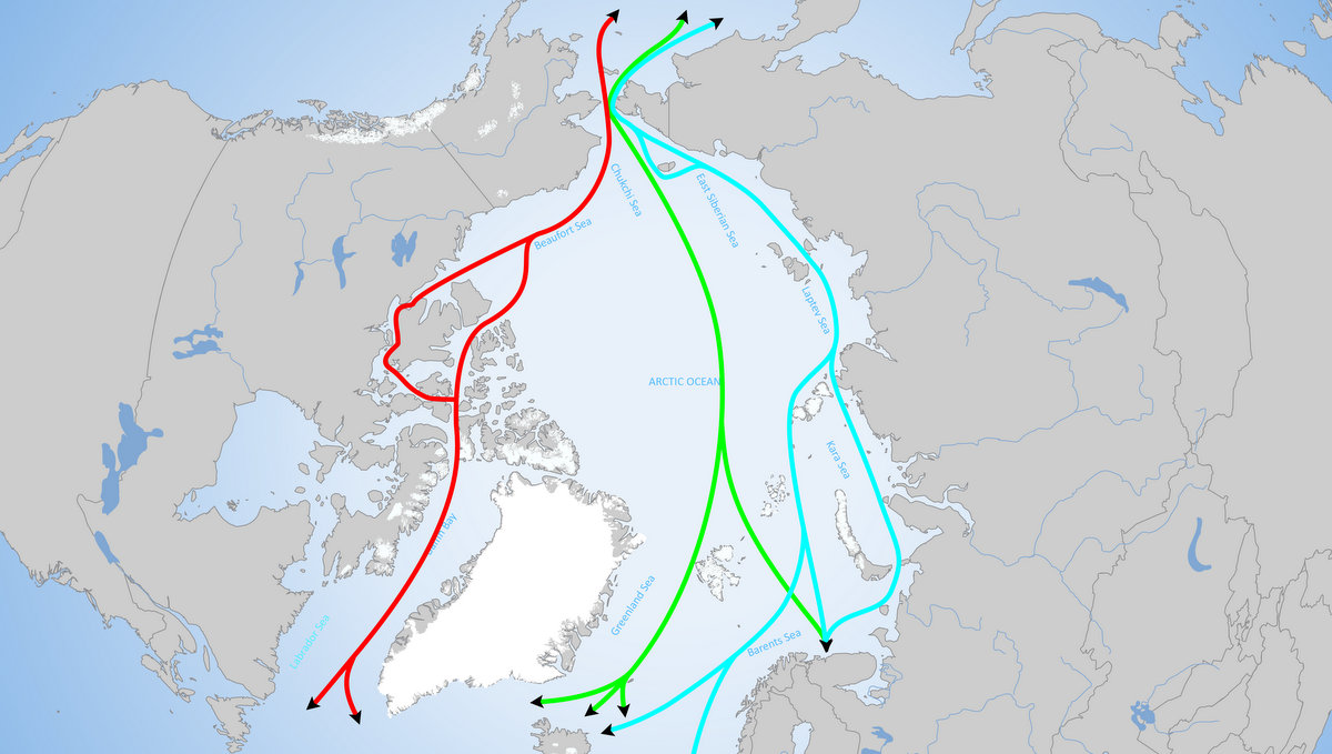 The Arctic Institute Center For Circumpolar Security Studies Emerson Large Artic Shipping Routes 003