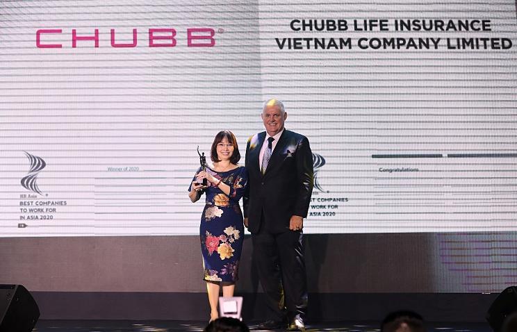 Nơi làm việc tốt nhất Châu Á thuộc về công ty bảo hiểm nhân thọ Chubb Life