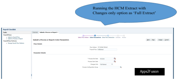 Delta Changes HCM Extract - A Use Case
