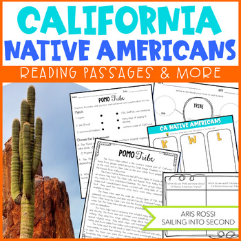 California Native Americans-Distance Learning Reading Passages and More