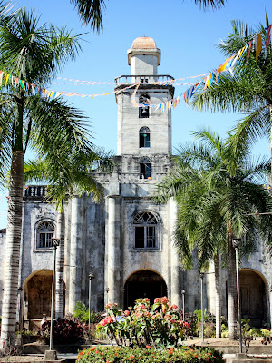 Church in Alburquerque in Bohol
