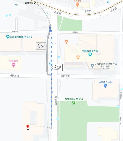 Woo-Taiwan台北大直ATT店位址
