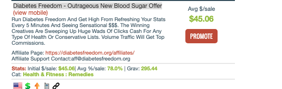 ClickBank Product promo