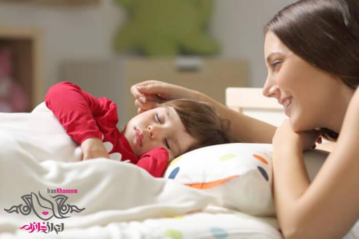 خواب کافی کودک