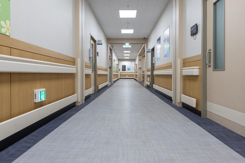Hallway, Hospital, Clean, Rooms, Doors, Hall, Medical