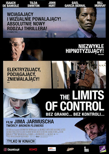 Przód ulotki filmu 'The Limits Of Control'
