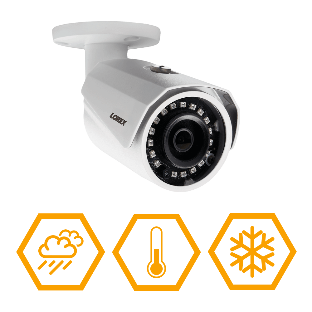2K weatherproof security camera